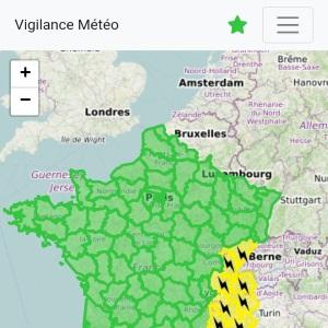 Vigilance Météo s'offre une nouvelle interface