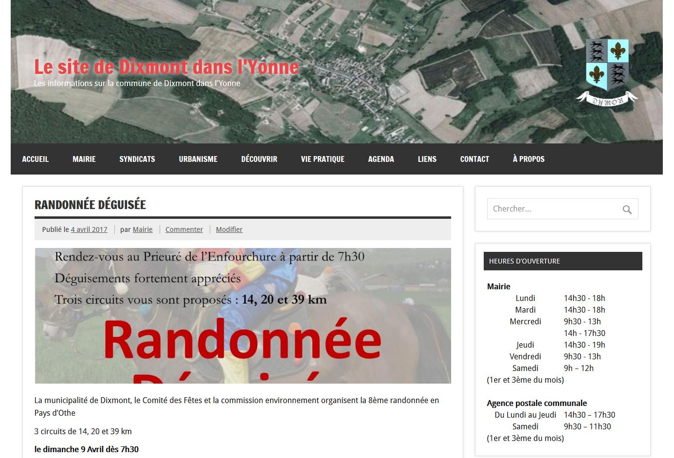 Dixmont dans l'Yonne