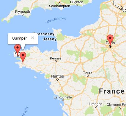 Pas à Pas – API Google Maps Javascript « InfoWindow », marqueurs Clic Google Map on