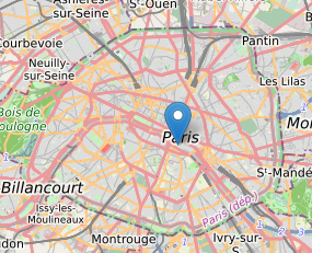 Carte OpenStreetMap avec marqueur